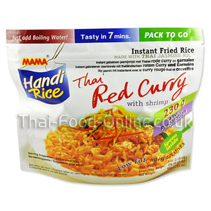 Handi rice (red curry) 80g by Mama - Thai Food Online (your authentic Thai supermarket)