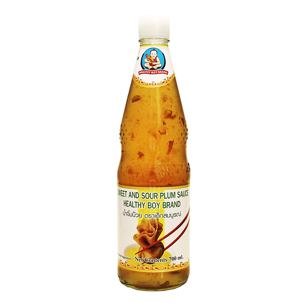 Thai Sweet and Sour Plum Sauce (700ml bottle) by Healthy Boy