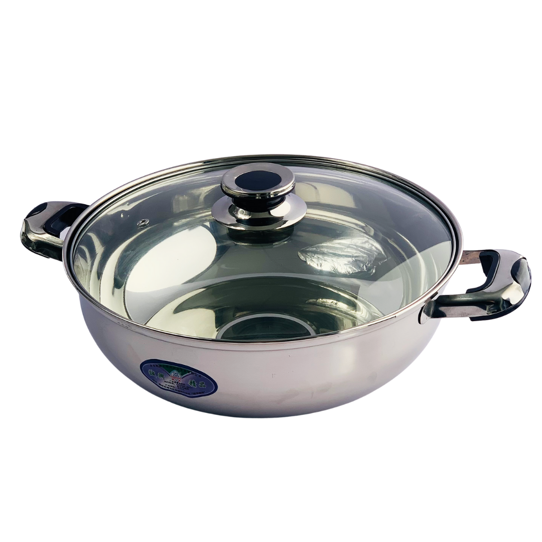 Steamboat Hotpot Pot with Lid 28cm