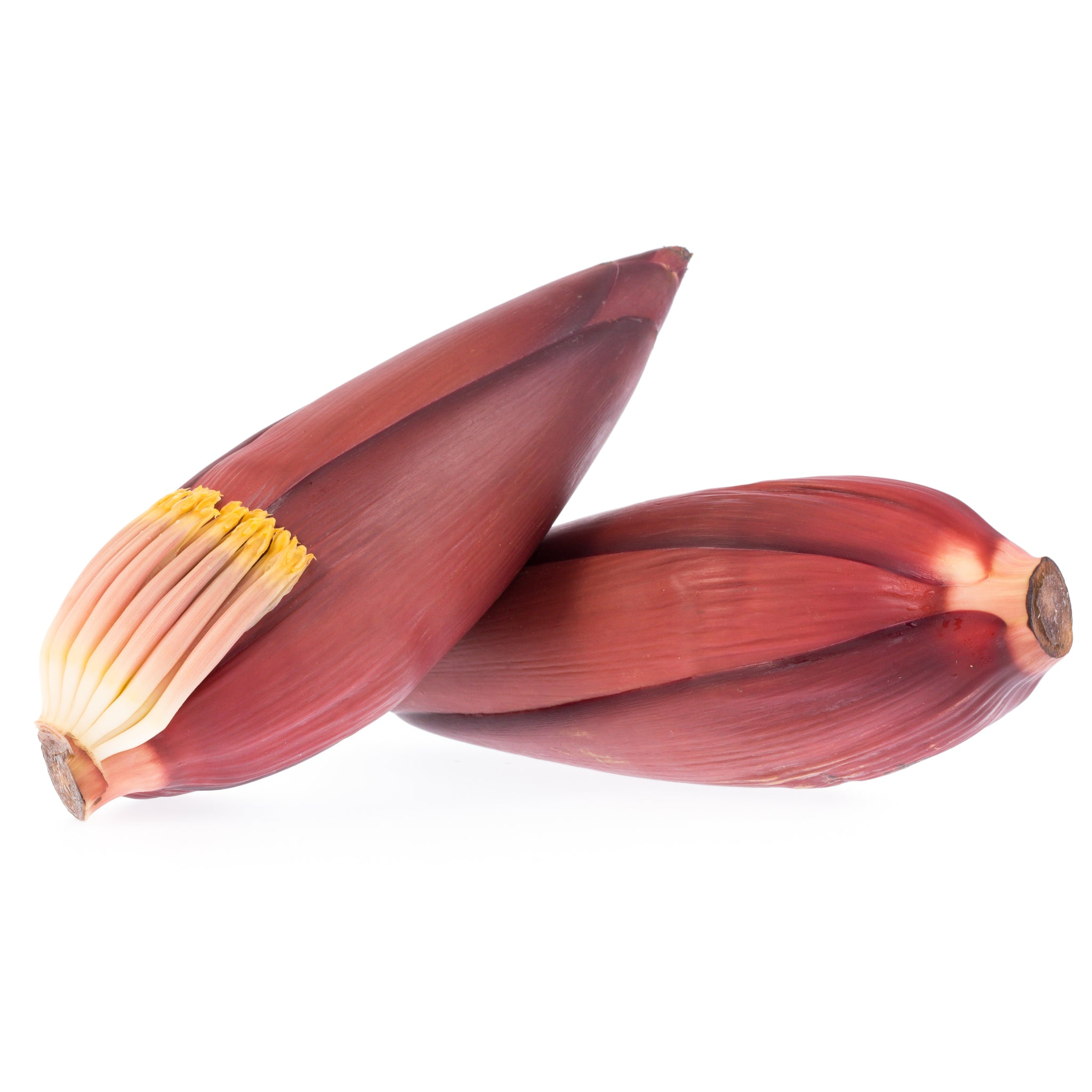 Fresh Thai banana flower (hua blee)