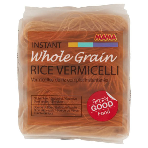 Instant Wholegrain Brown Rice Vermicelli (225g) by Mama