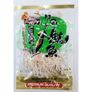 Shredded Squid Seafood Snack 30g by Jeeny's