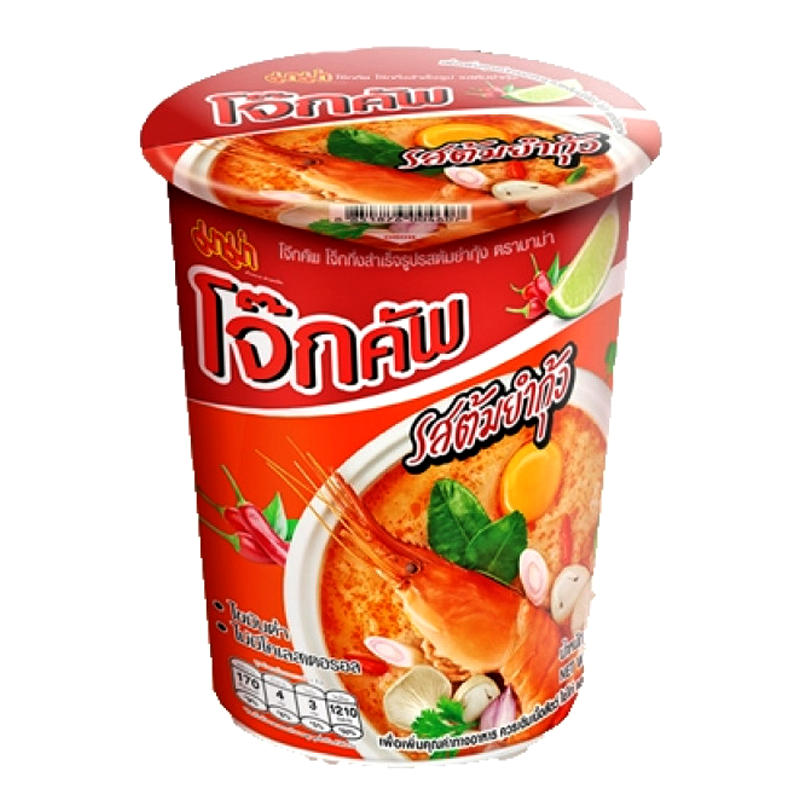 Jok Cup Rice Porridge Tom Yum Flavour 45g by Mama
