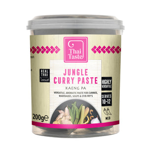 Thai jungle curry paste (kaeng pa) 200g by Thai Taste
