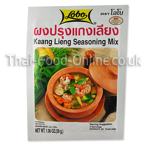 KAANG LIENG SEASONING 30G BY LOBO - Thai Food Online (your authentic Thai supermarket)