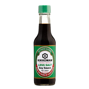 Premium Soy Sauce (Less Salt) 250ml by Kikkoman