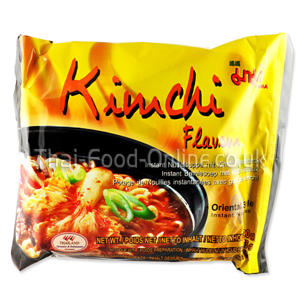 Kimchi (Korean Udon) Noodles 90g by Mama