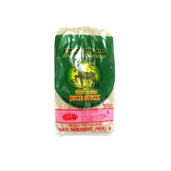 Thai rice stick / noodles (5mm) 400g by Kirin