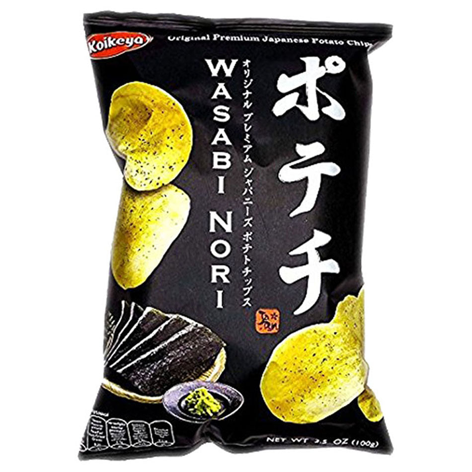 Potato Crisps Wasabi Nori Flavour 100g by Koikeya