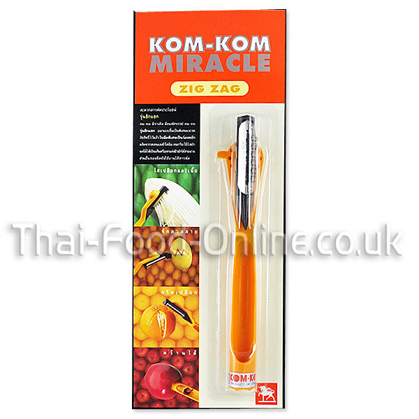 MIRACLE ZIG ZAG KNIFE 8 INCHES BY ANCHOR - Thai Food Online (your authentic Thai supermarket)