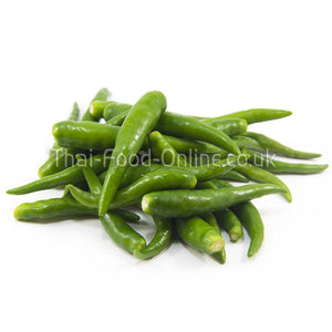 Large green Thai chillies (peppers) - Thai Food Online (your authentic Thai supermarket)