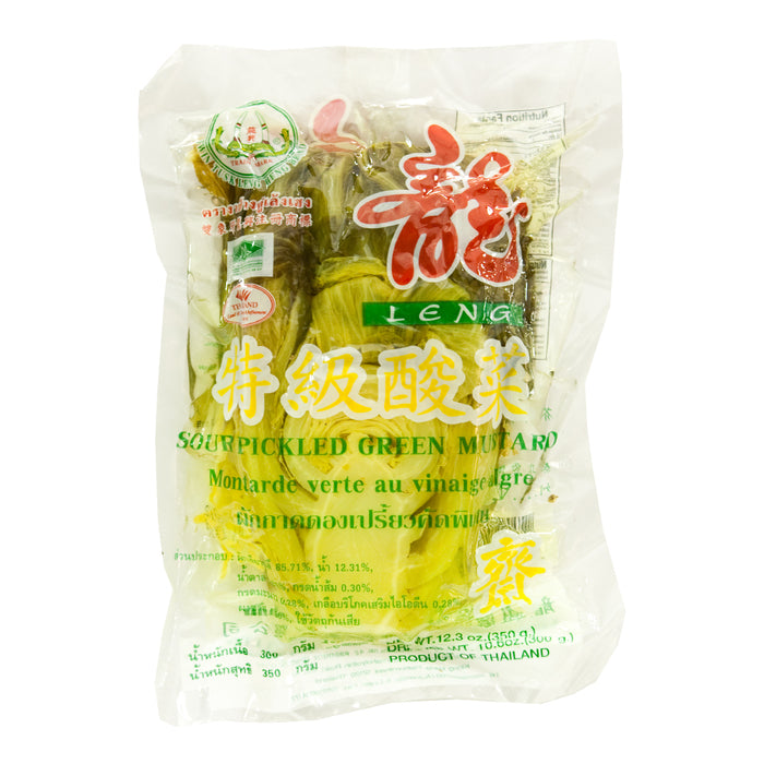 Thai Sour Pickled Mustard Green (350g) by Leng Heng
