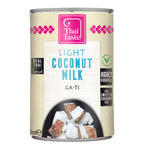 Thai light coconut milk (ga-ti) 400ml by Thai Taste