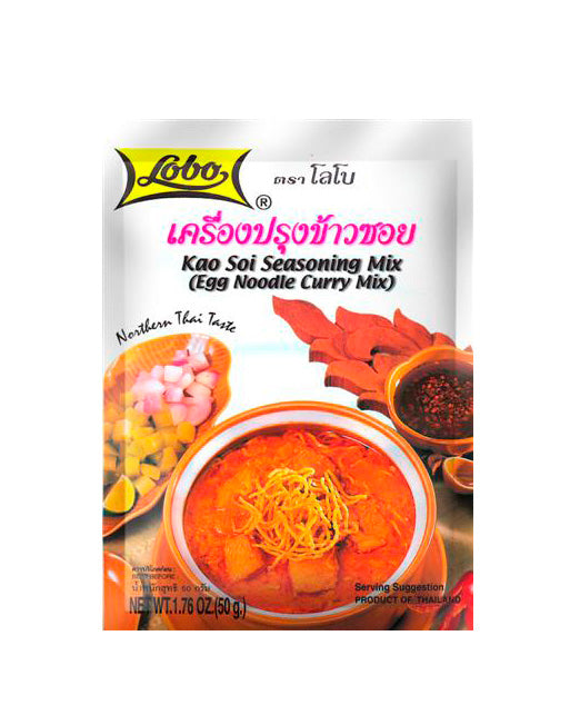 Thai kao soi seasoning (50g packet) by Lobo