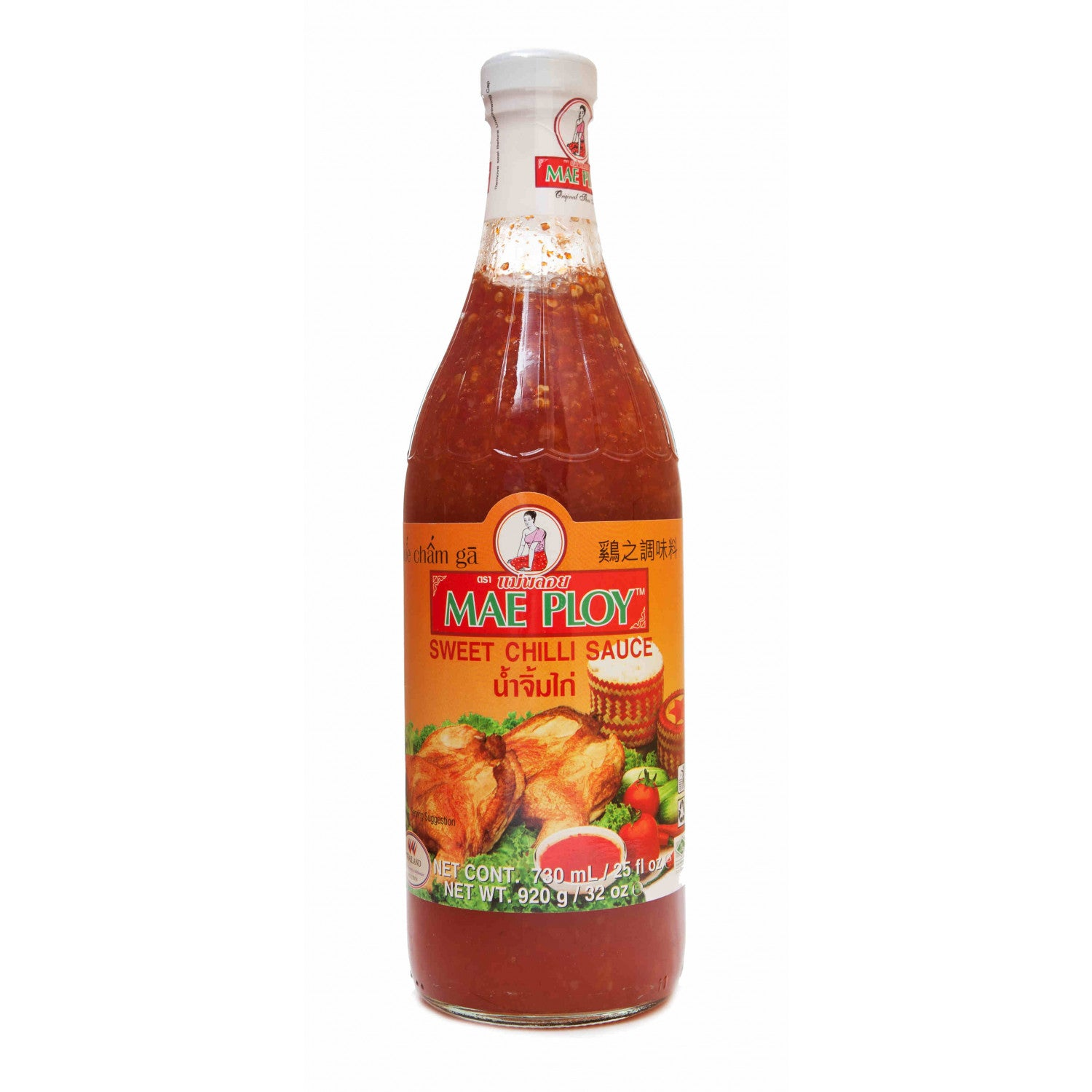 Sweet Chilli Sauce 730ml Bottle By Mae Ploy Thai Food Online Authentic Thai Supermarket