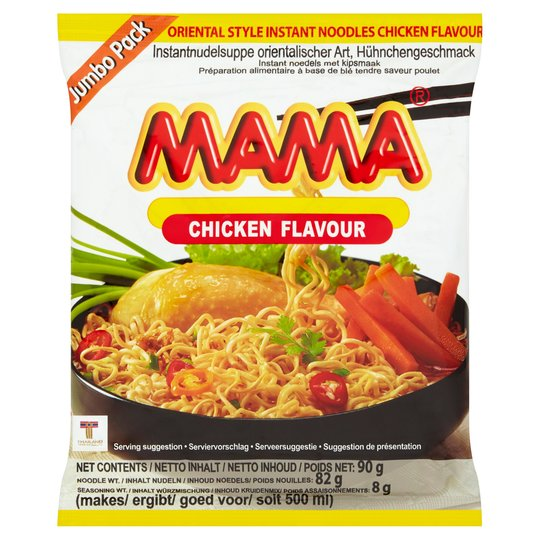 Instant Noodle (Chicken) (large 90g) by Mama