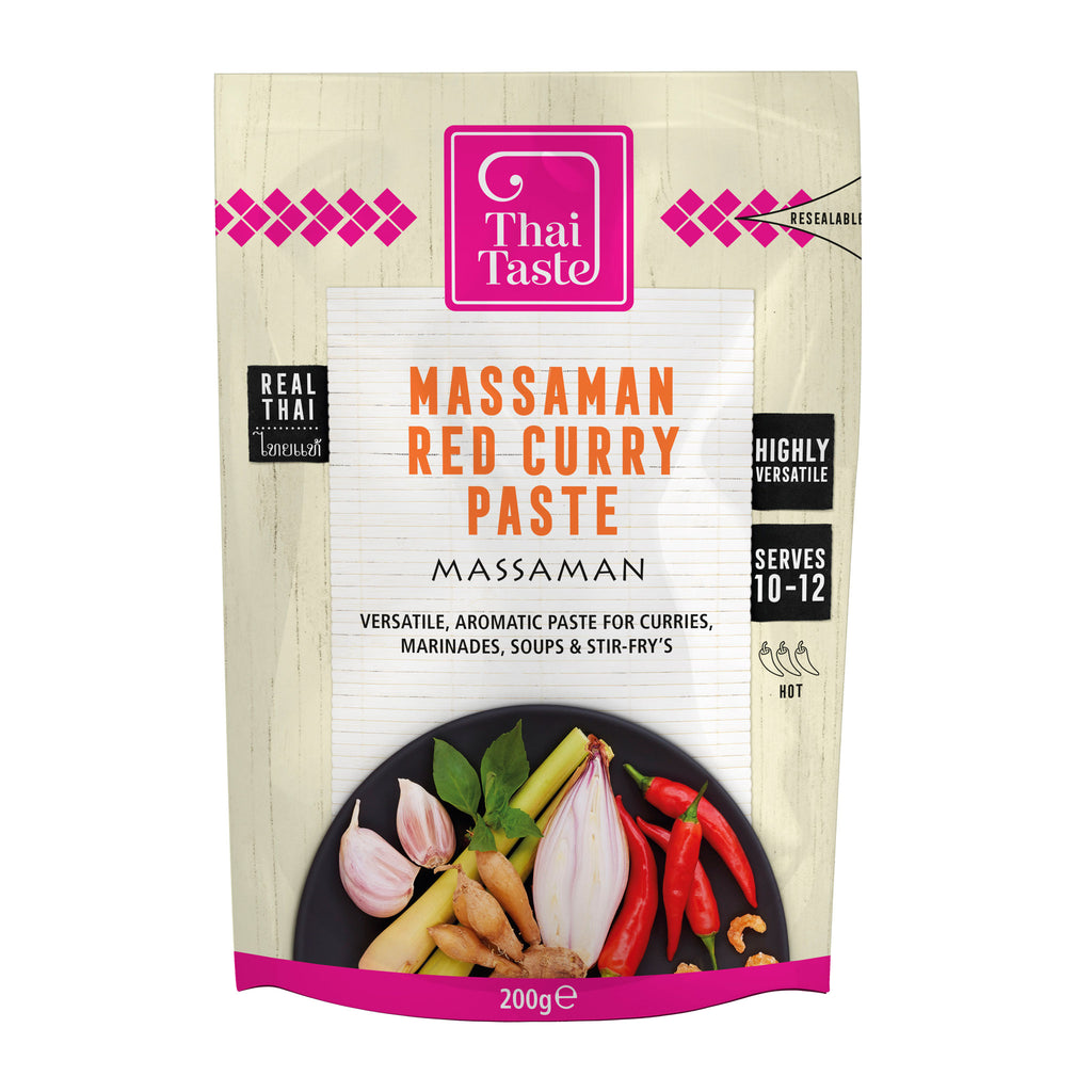 Thai red curry paste (massaman) 200g by Thai Taste