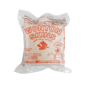 Frozen Wonton Pastry - Orange (Frying) 500g by North South