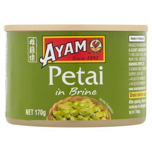 Tinned Petai Beans in Brine 170g by Ayam