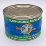 Pickled Sweetened Mustard Greens Tin 230g by Pigeon