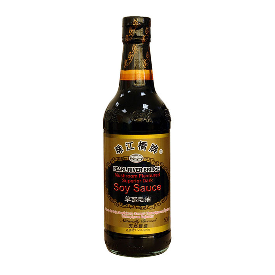Mushroom Soy Sauce (500ml) by Pearl River Bridge