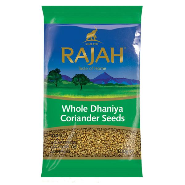 Coriander / dhaniya seeds (whole) 100g by Rajah