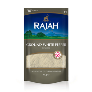 Ground White Pepper 100g by Rajah