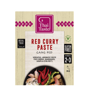 Thai Red Curry Paste (Gang Ped) 43g by Thai Taste