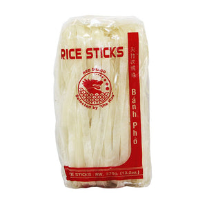 Thai Rice Stick (10mm) 375g by Red Drago