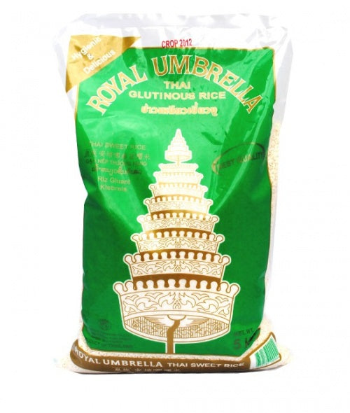 Thai sticky rice (glutinous) 5kg by Royal Umbrella