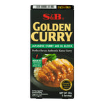 Japanese Golden Curry Sauce Mix (Medium Hot) 92g by S&B