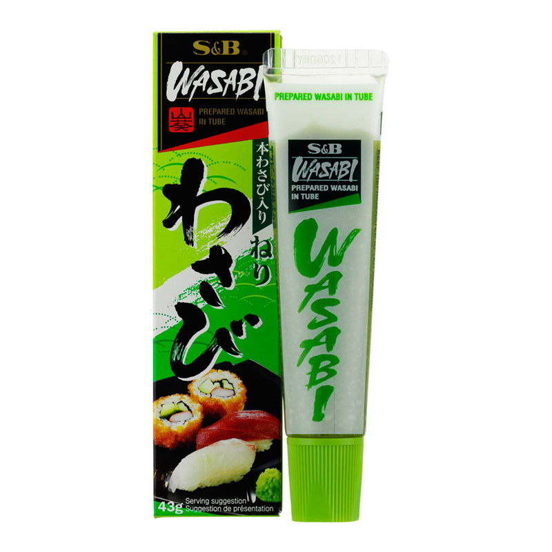 Japanese wasabi paste in tube (43g) by S&B