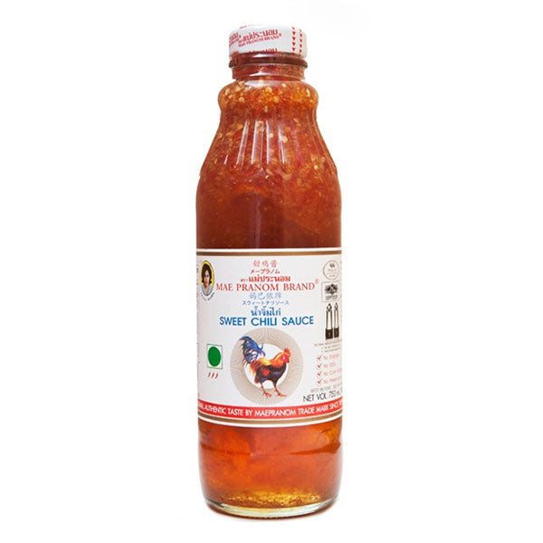 Thai Sweet Chilli Sauce 750ml By Maepranom Thai Food Online Authentic Thai Supermarket