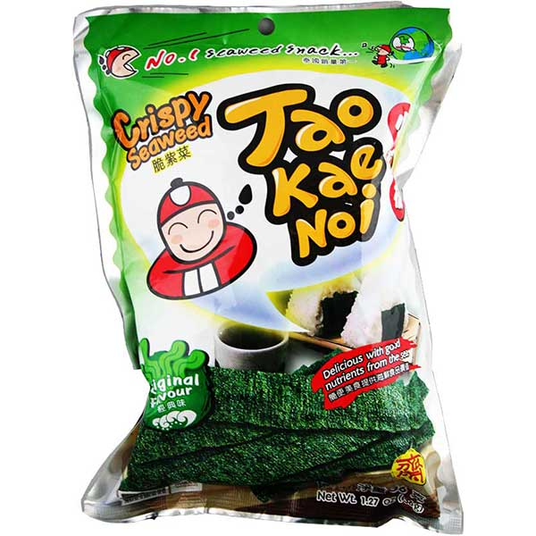 Crispy Seaweed (Original) - Thai Food Online (your authentic Thai supermarket)