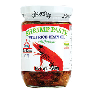 Shrimp Paste with Rice Bran Oil 200g by Por Kwan
