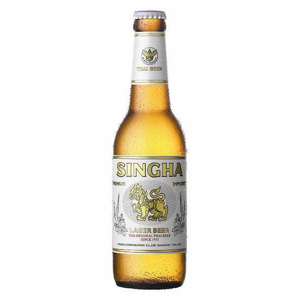 Thai Singha Beer (330ml bottle) 5.0%