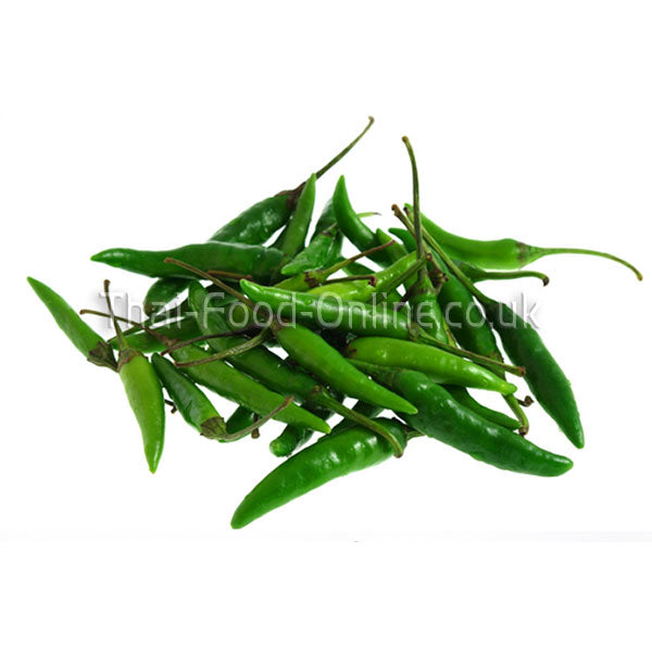 Small Thai green chillies