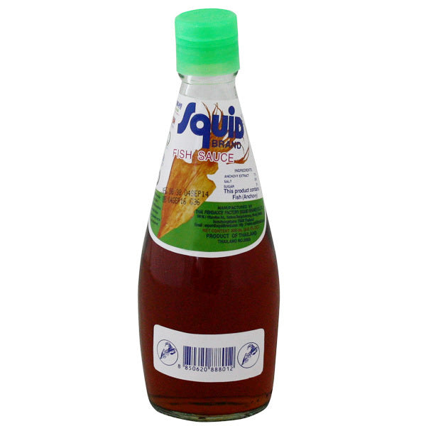 Thai fish sauce (300ml smaller bottle) by Squid
