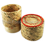 Bamboo Sticky Rice Container - Thai Food Online (your authentic Thai supermarket)