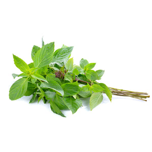 Fresh Thai sweet basil (100g) - Imported weekly from Thailand