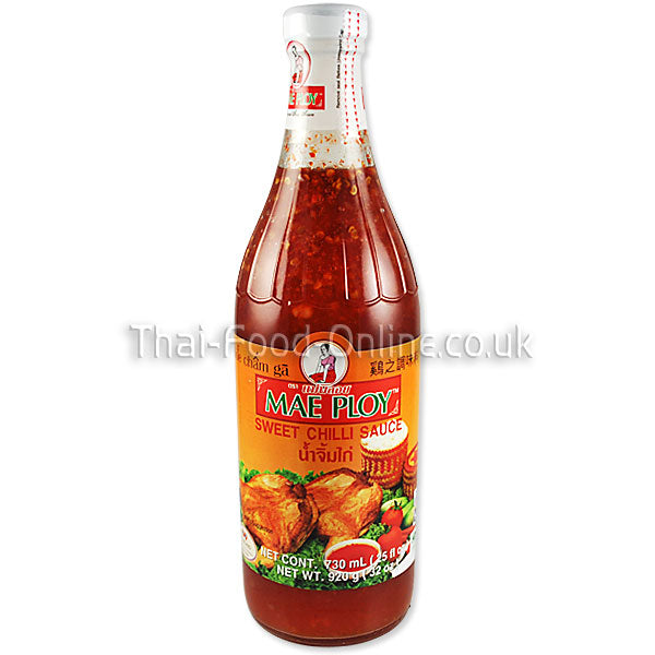 Sweet chilli sauce (730ml bottle) by Mae Ploy - Thai Food Online (your authentic Thai supermarket)