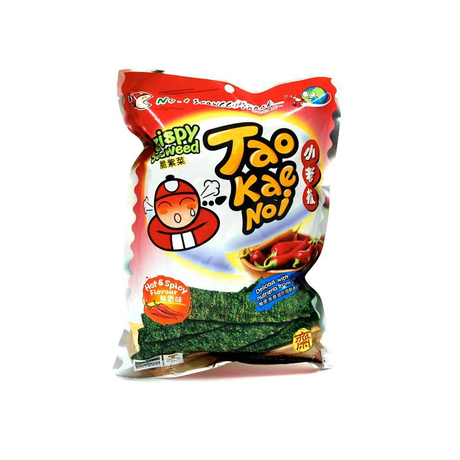 Thai Crispy Seaweed (Hot & Spicy) 36g by Tao Kae Noi