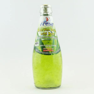 Thai Aloe Vera Drink with Pulp 290ml by V-Fresh