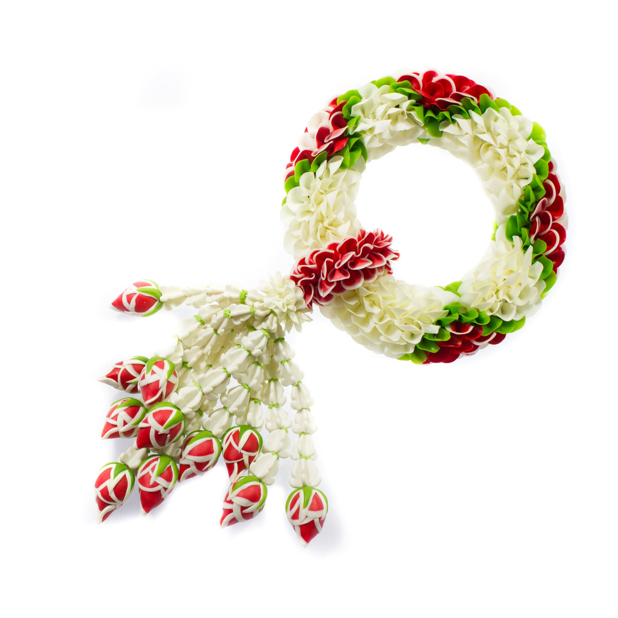 Fresh Thai jasmine (jasmin) garland imported weekly from Thailand