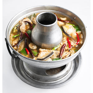 Thai soup bowl (mongolian hotpot) 22cm by Crocodile