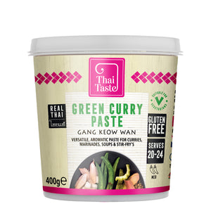 Thai green curry paste (gang keow wan) 400g by Thai Taste