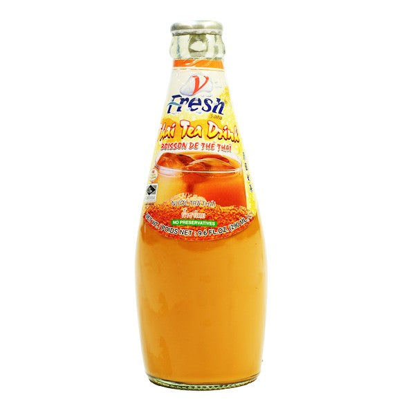 Thai Tea Drink (with Basil Seed) - Thai Food Online (your authentic Thai supermarket)