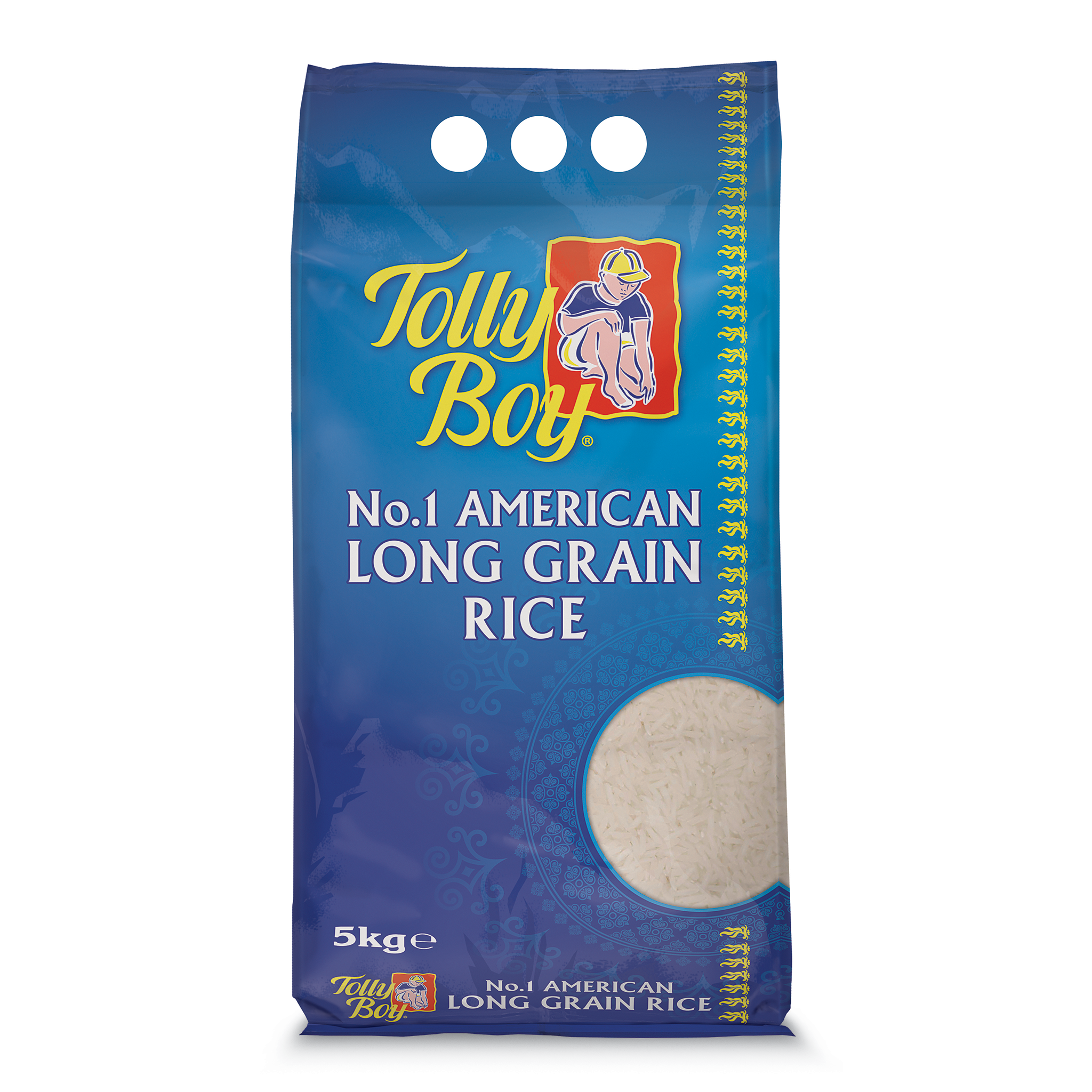 Long Grain Rice 5kg by Tolly Boy
