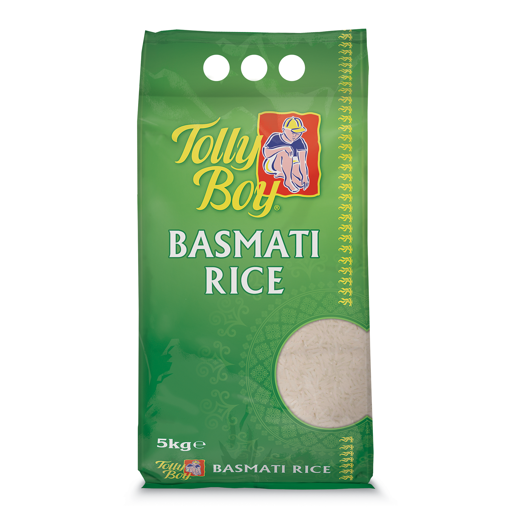 Basmati Rice 5kg by Tolly Boy