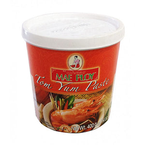 Thai tom yum paste (400g tub) by Mae Ploy - Thai Food Online (your authentic Thai supermarket)